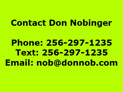 Contact Details for Don Nobinger